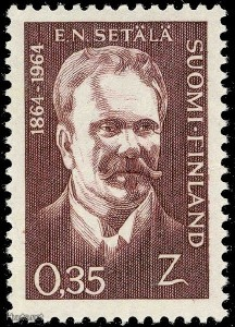 ENS postimerkki 1964
