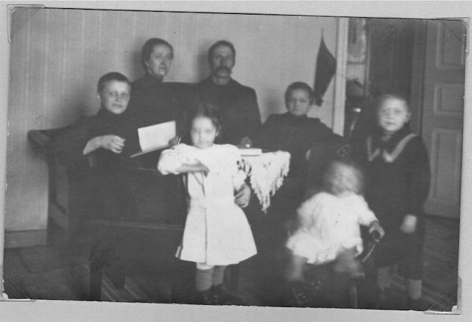 Otto ja Maria Setala perh 1911