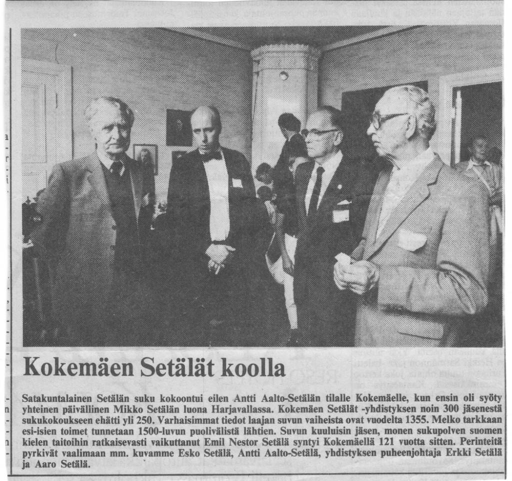 KS koolla 1985 Harjavalta